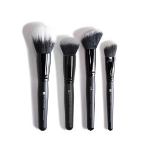 4er Make Up Pinsel Set  - Kosmetik Pinsel